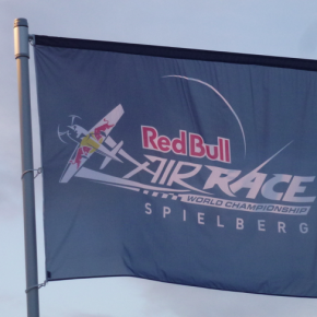 Oct - red bull flag