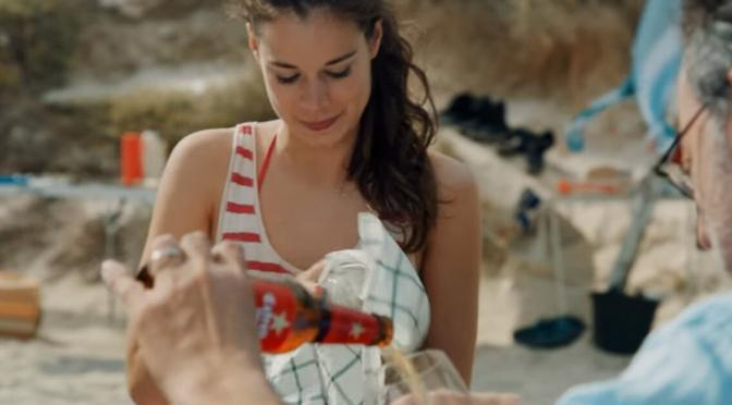 """If Estrella Damm made movies, it would be called """"The little things"""" starring Jean Reno and Laia Costa."""