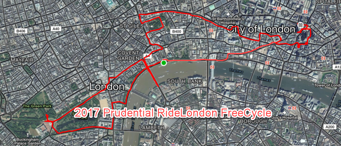 2017 Prudential RideLondon FreeCycle