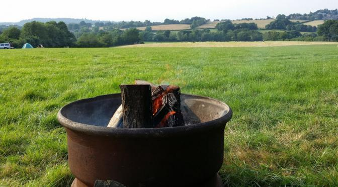 Rediscover this day – 12th July 2011 – Camping at Bedgeberry Kent.