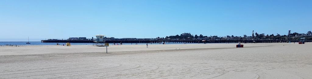 Santa Cruz beach and pier