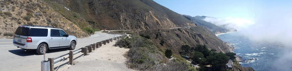 Panorama of Big Sur