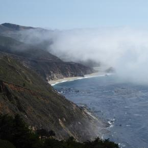 dramatic scenery along the Big Sur