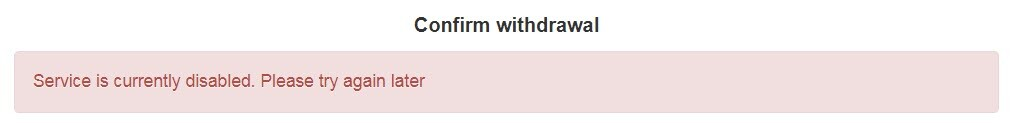Kraken Error withdraw
