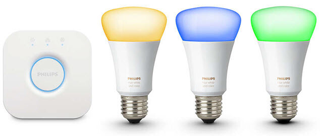 Philips Hue led lights with hub