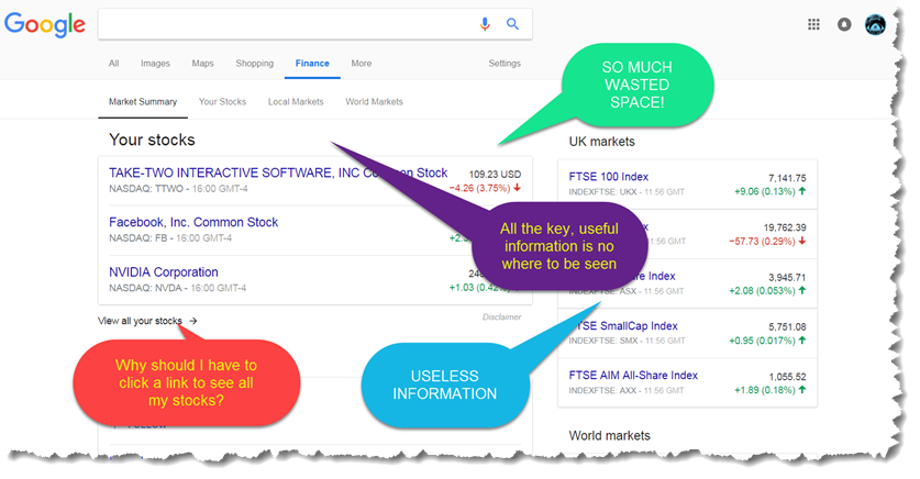 lookatbowen new google finance