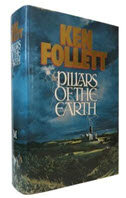 The Pillars of the Earth hardcover book