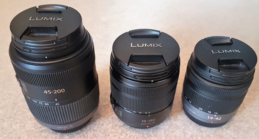 Panasonic G lenses