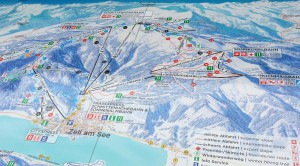 map of the ski area