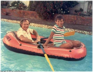Row row row your boat... across the swimming pool.