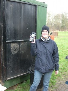 Clay pigeon shooting 2007