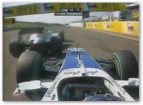 Schumacher and Barrichello