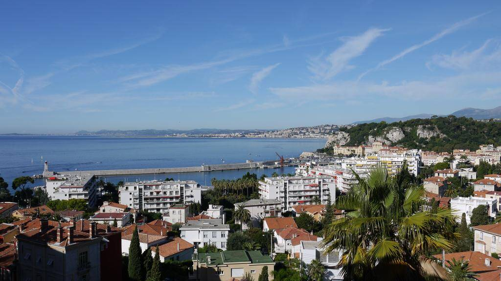 What a view of Nice harbour?