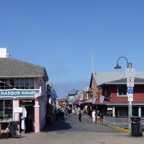 Entrance to Fisherman's wharf