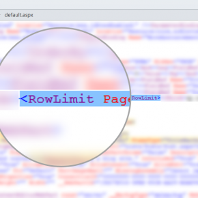 SharePoint RowLimit