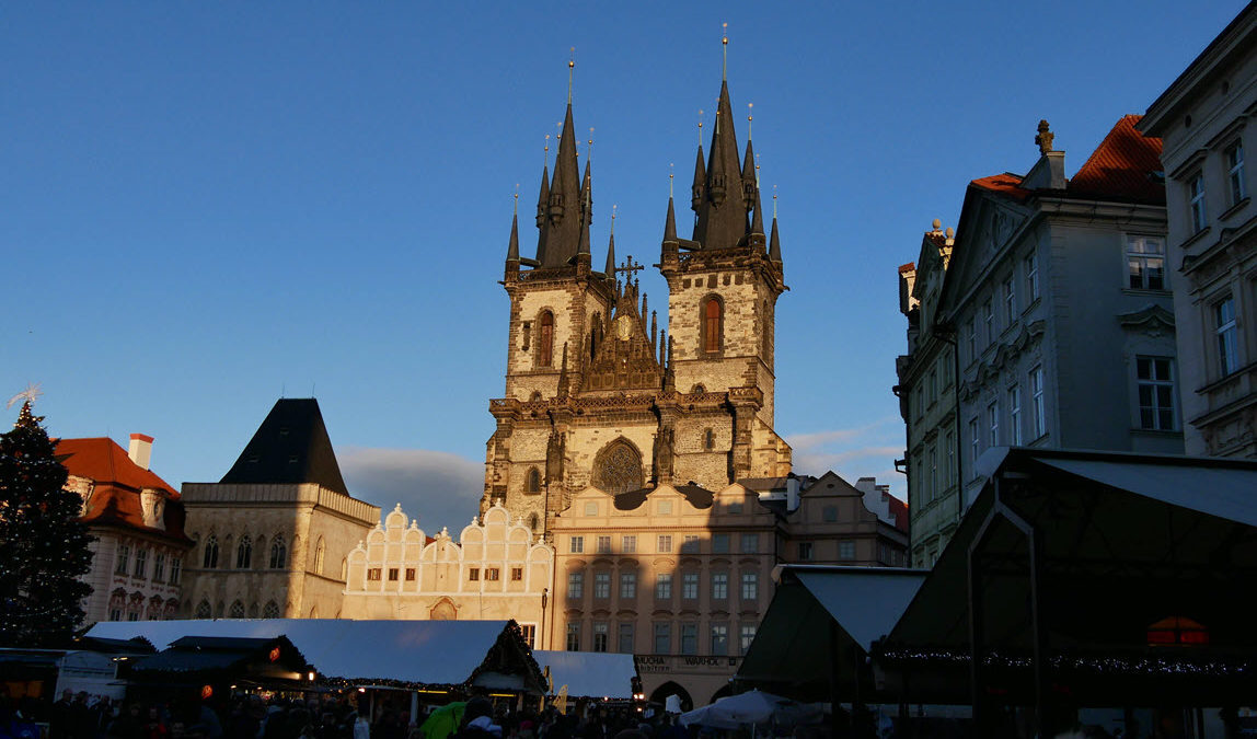 Gothic Church of Our Lady before Týn