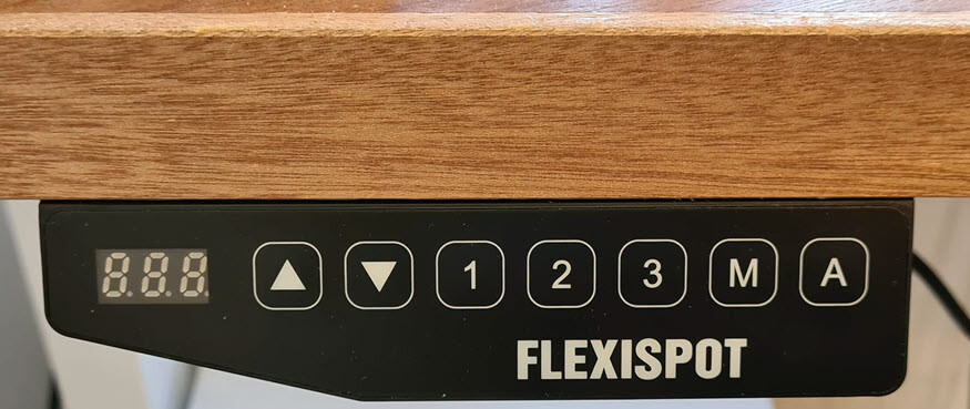 FlexiSpot E5B adjustable electric three-stage heavy duty steel (frame-only solution)