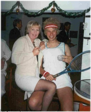 Heather and some tennis lady (Mick)